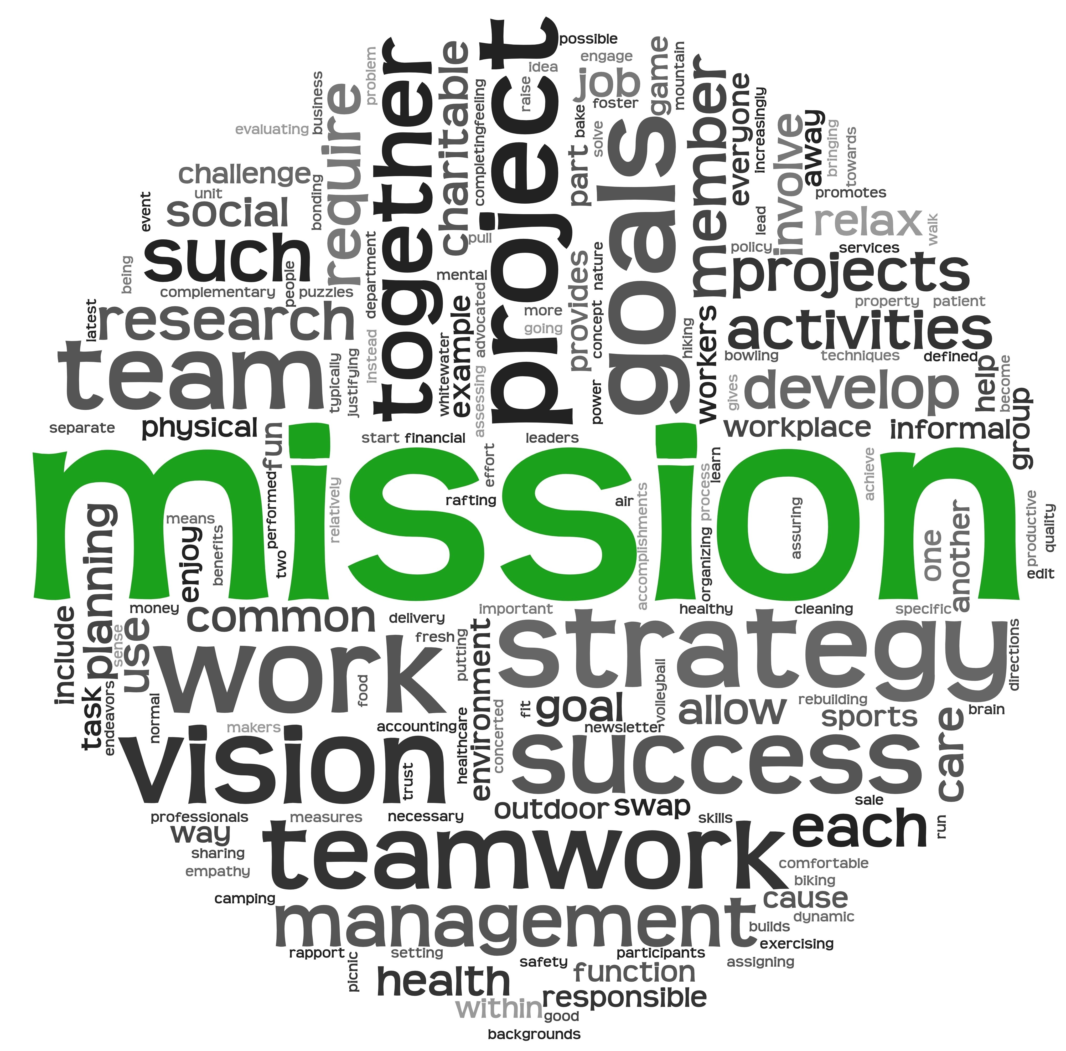 Without A WellDefined Mission And Vision Acted Within A Clear