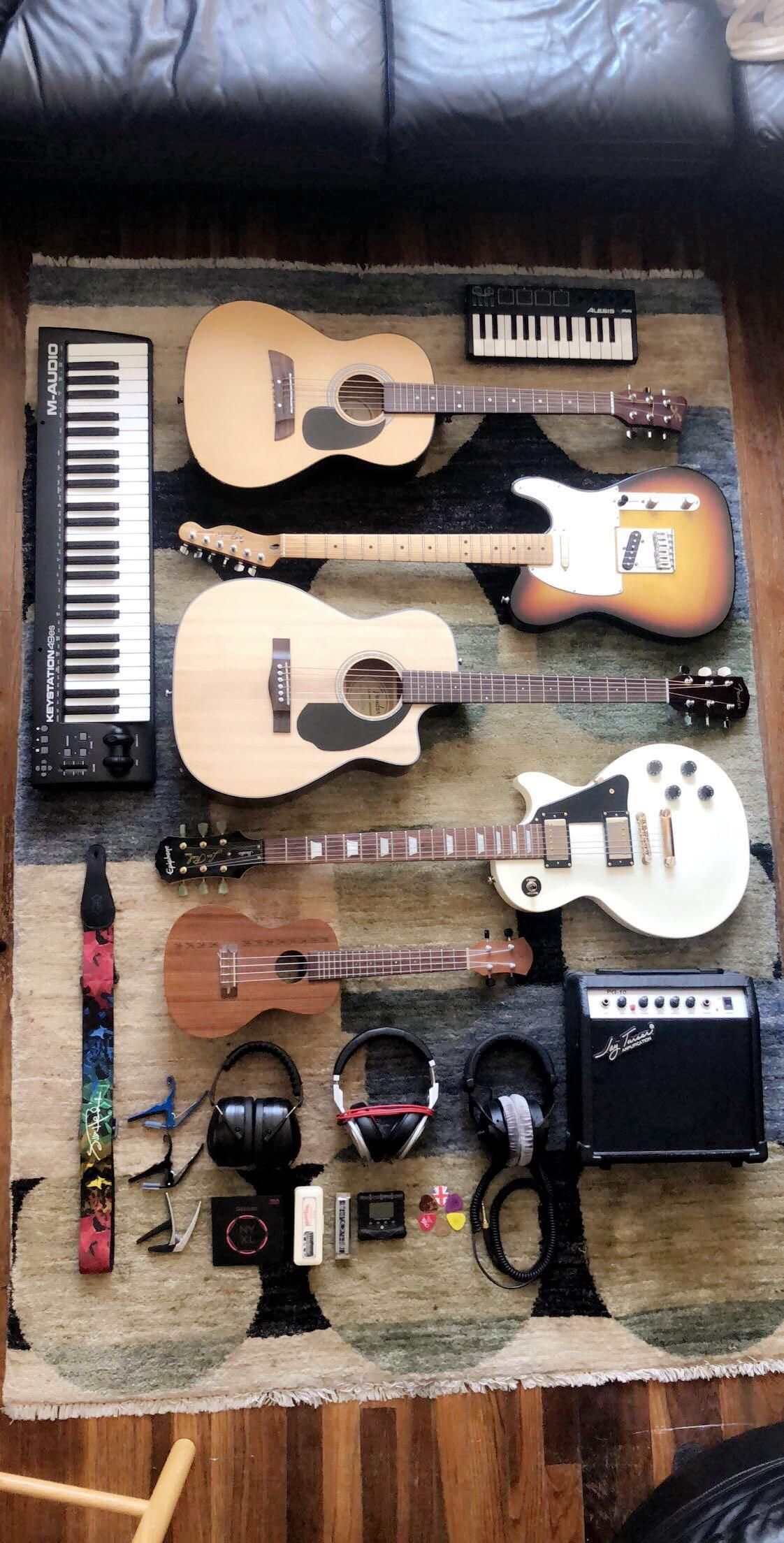 Nothing Crazy But Gets The Job Done Guitar Design Diy Pedalboard Music Guitar
