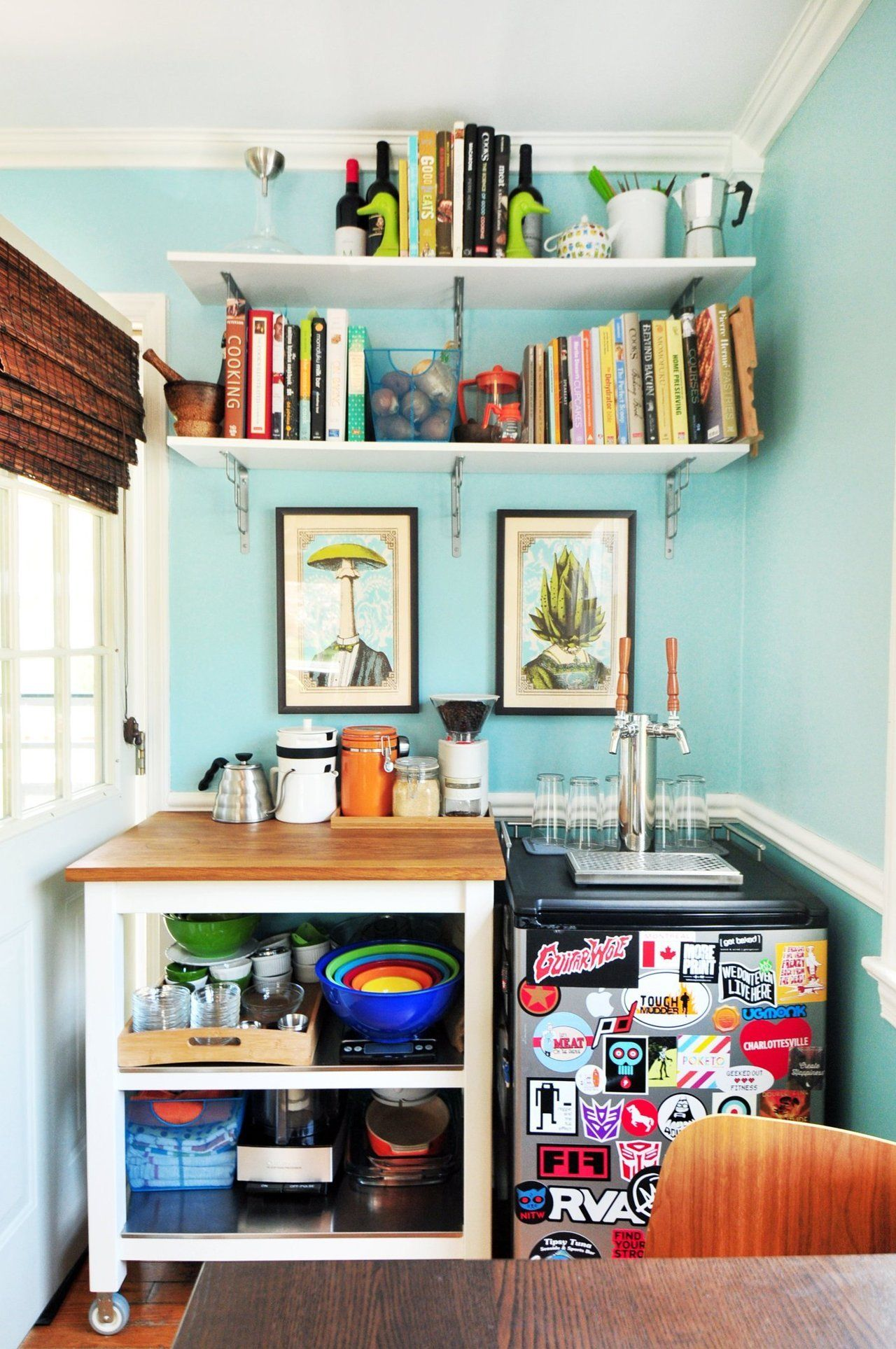 House Tour: A Colorful and Animated Abode | Kitchens, House and Spaces