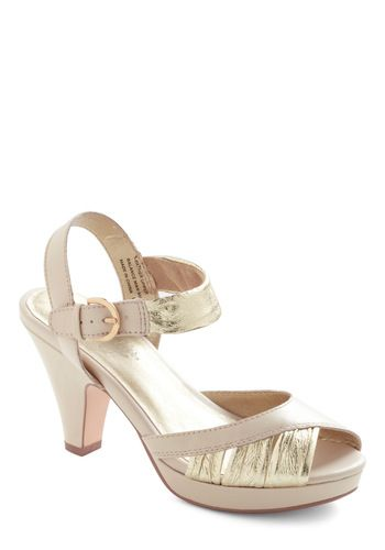 a724ab8774 Coulda Danced All Night Heel in Ivory