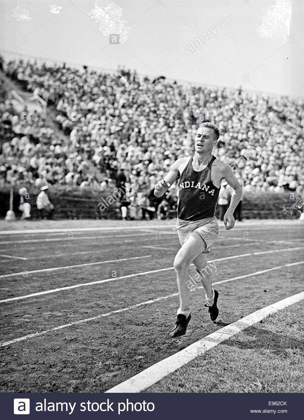 Indiana great Don Lash Olympic trials, Olympics, Olympic