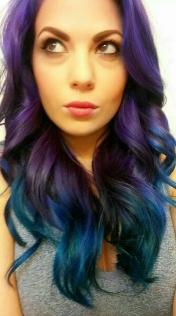 Peacock Hair Crazy Color Hot Purple Lavender With Adore - Peacock hairstyle color