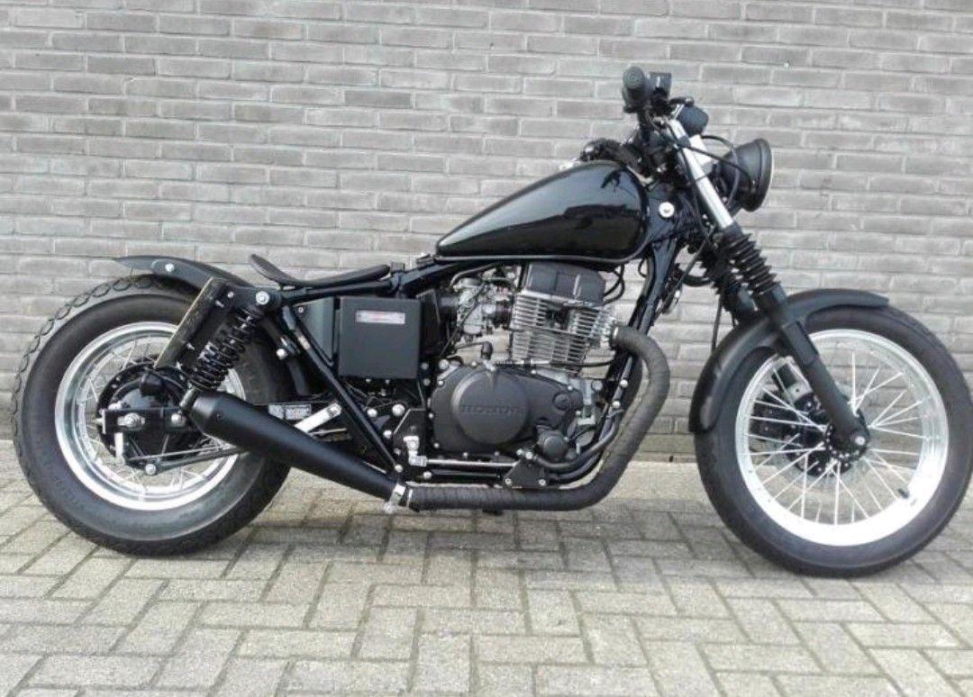 pin de edson aguilar em bobber motos