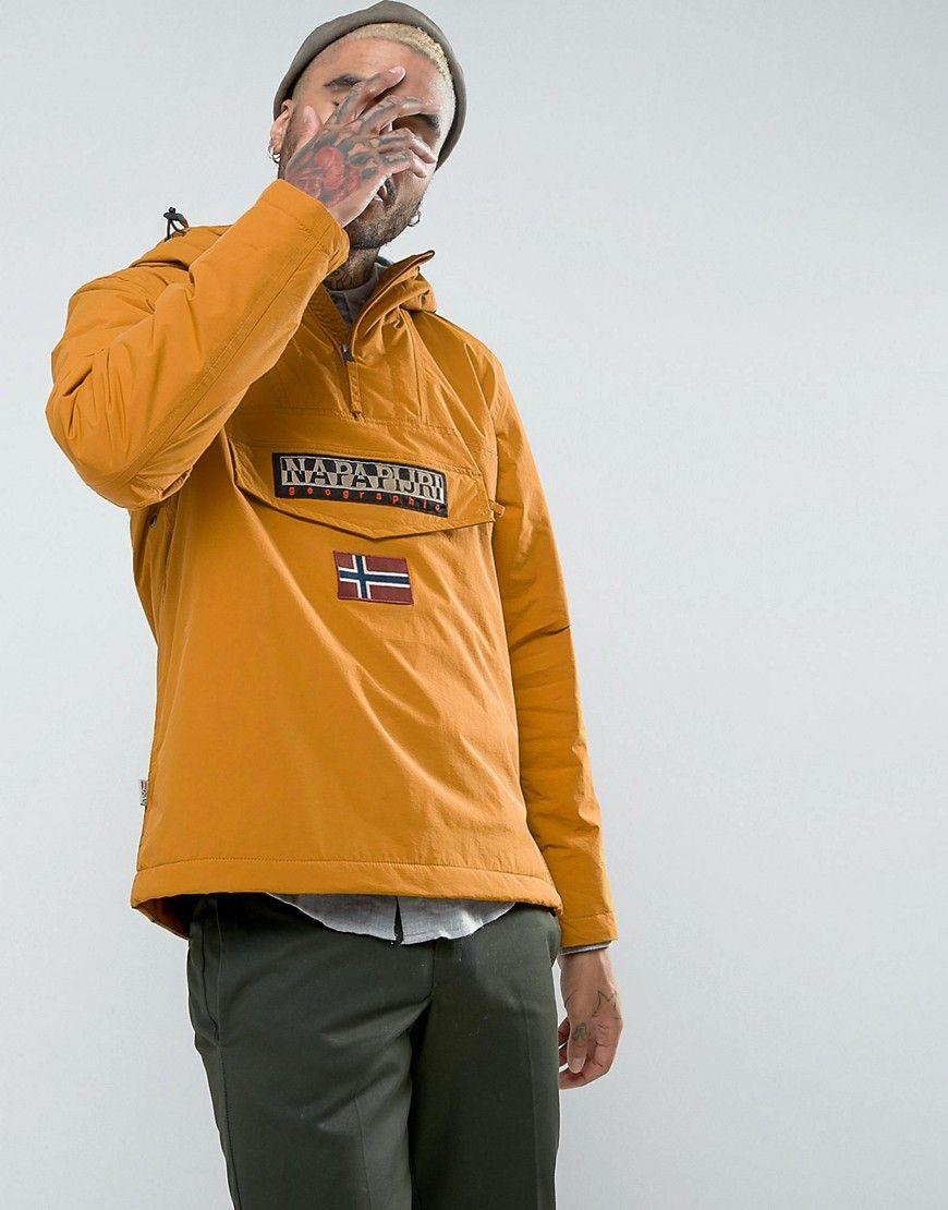 Napapijri Rainforest Jacket in Tan - Tan  e5a302985f1