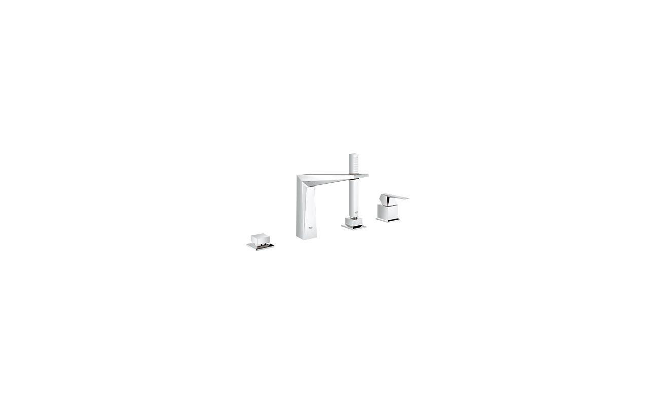Grohe 19 787 Allure Brilliant Roman Tub Filler with Hand Shower ... - Grohe 19 787 Allure Brilliant Roman Tub Filler with Hand Shower Starlight  Chrome Faucet Roman Tub