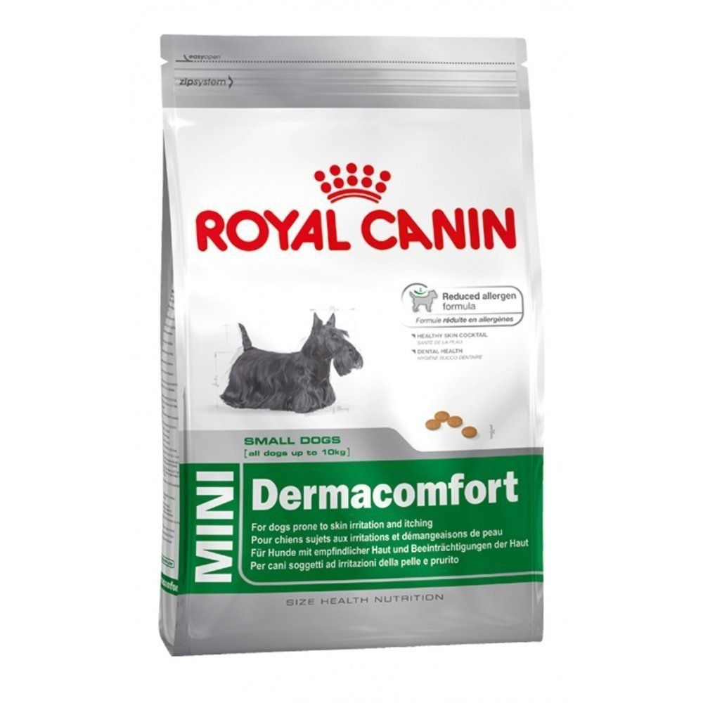 Royal Canin Mini Dermacomfort Dry Mix 1 5 Kg Be Sure To Check Out This Awesome Product This Is An Affiliate Lin Dry Dog Food Dog Food Recipes Royal Canin