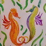 "Priya on Instagram: ""#seahorse s in love.. #chanellove #animallove #naturepainting#wildlife #sealife #illustration #illustration_daily #illustrationartists…""  #animallove #chanellove #Illustration #illustrationartists #illustrationdaily #Instagram #Love #naturepaintingwildlife #Priya #Seahorse #Sealife"
