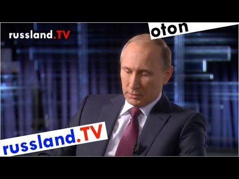 Putin auf deutsch zu Russlands Syrien-Bombardement