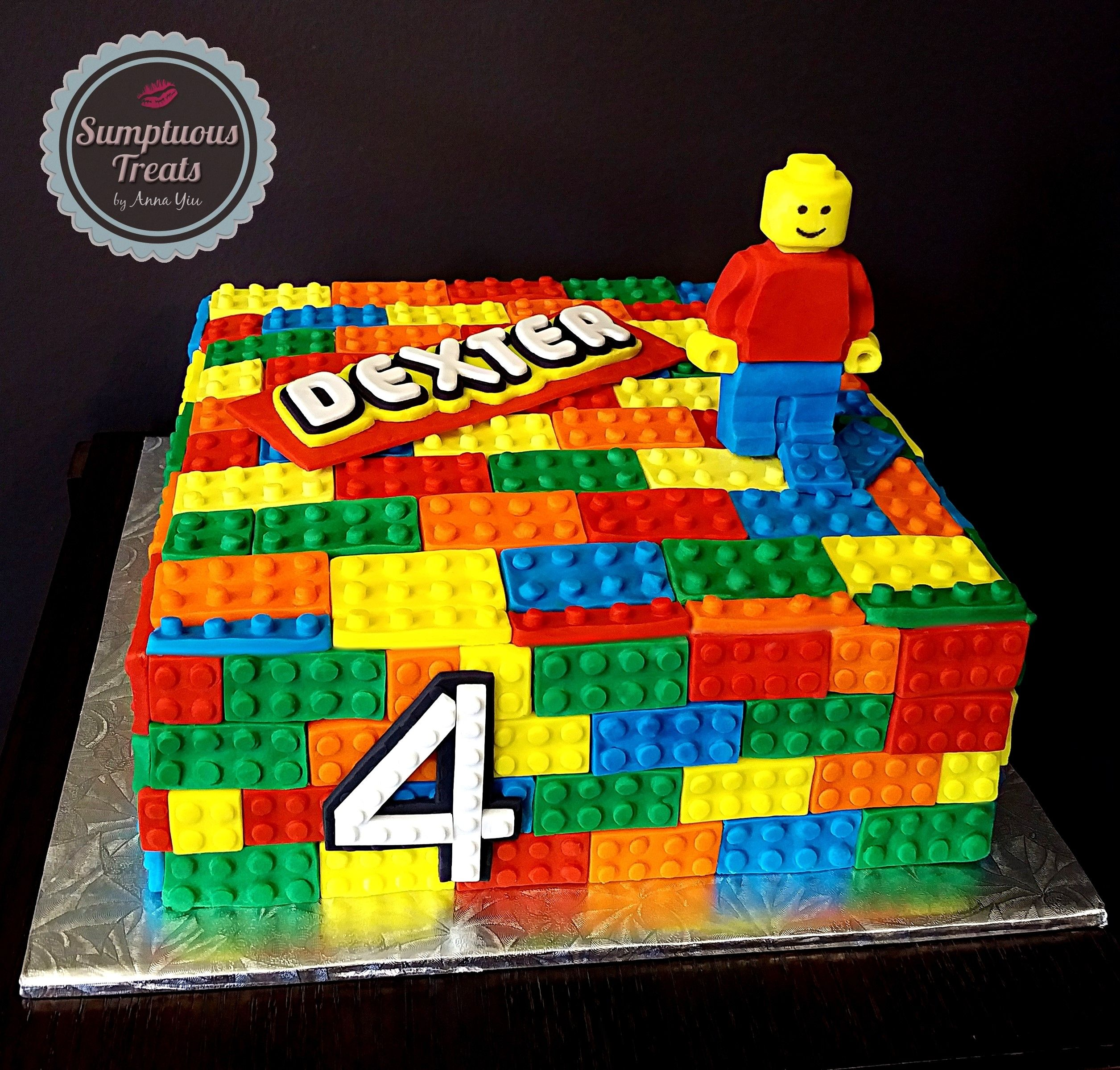 LEGO Cake CustomMadeToOrder Cakes Desserts Edible Art www
