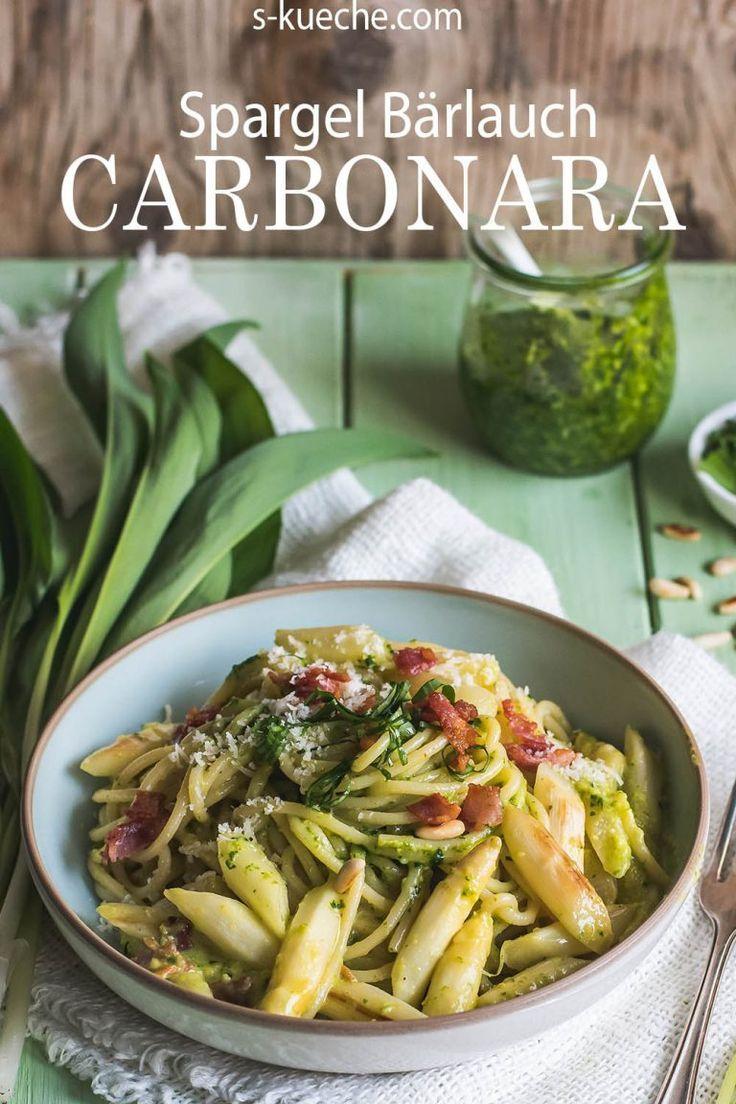Spargel Bärlauch Carbonara #chinesemeals