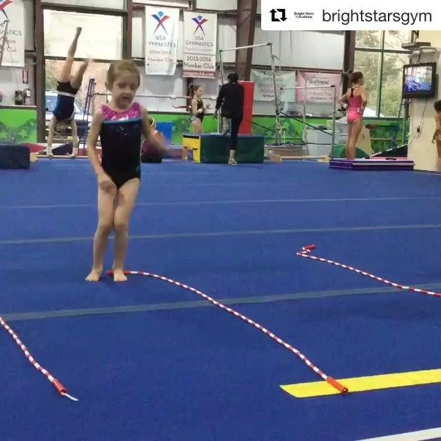 Recgympros On Instagram Simple And Effective Get Those Kids To Master Their Side To Side Jumps Recgympros Repost Brightstarsgym We Love To