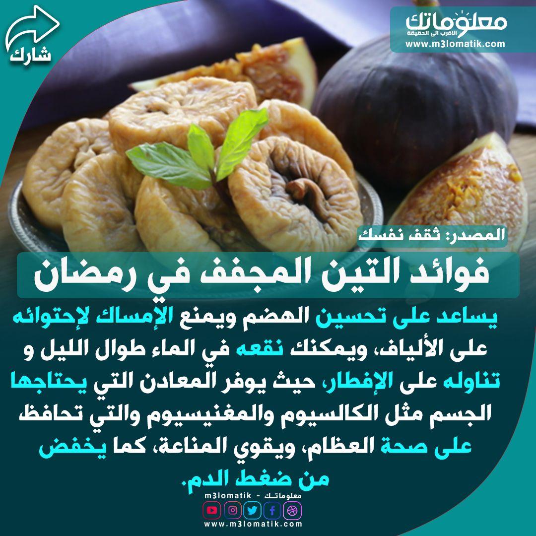 فوائد التين المجفف في رمضان Food Meat Chicken