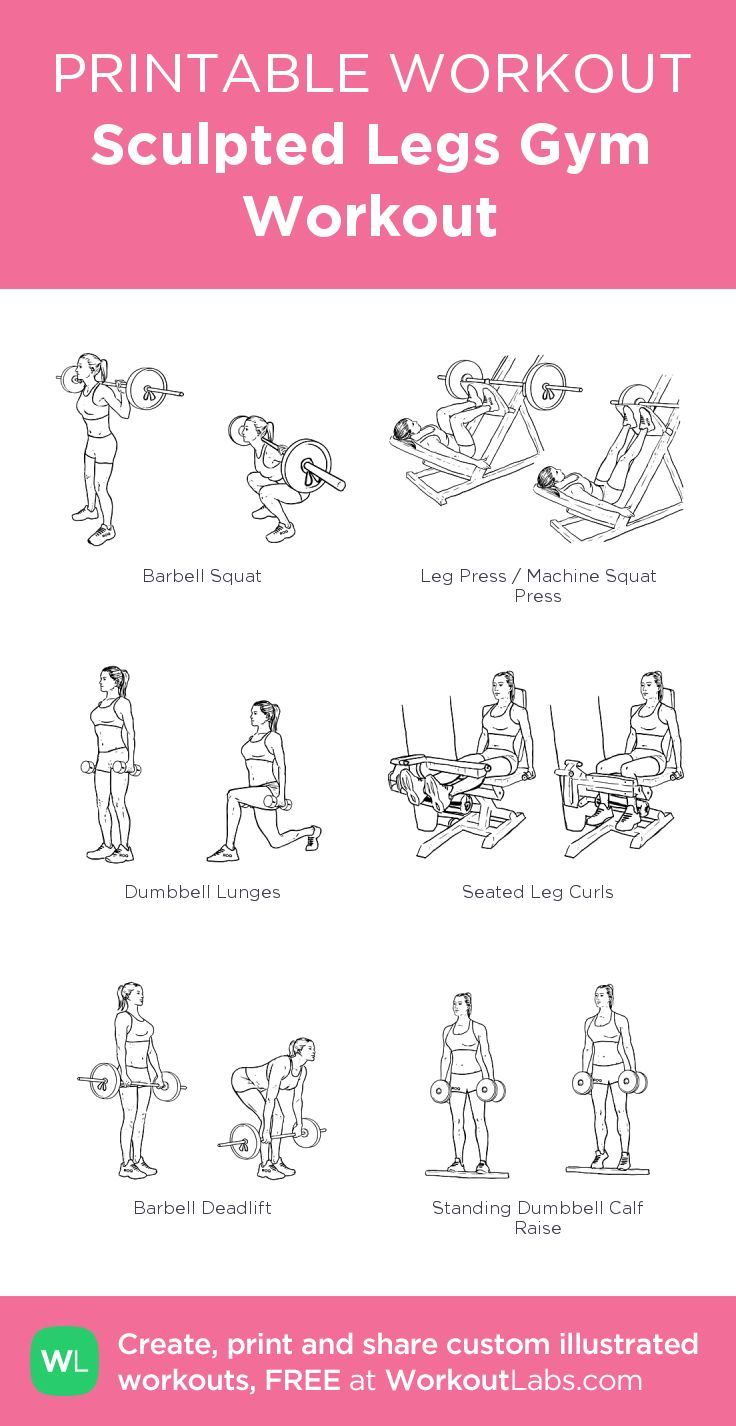 Sculpted Legs Gym Workout: my visual workout created at WorkoutLabs.com • Cli... - #Cli #created #gym #legs #sculpted #visual #Workout #WorkoutLabscom #WORKOUTmy
