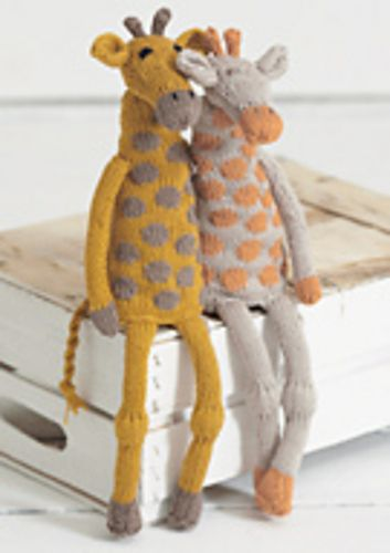 Ravelry Noahs Ark Giraffes Pattern By Sue Jobson Free Stuffed