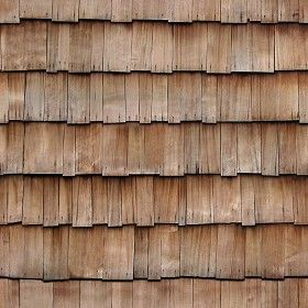 Textures Texture seamless | Wood shingle roof texture seamless 03864 | Textures - ARCHITECTURE - ROOFINGS - Shingles wood | Sketchuptexture