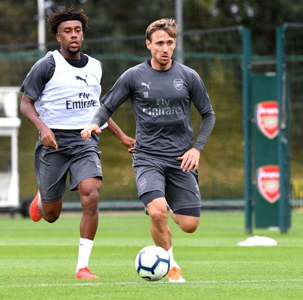 Arsenal Nacho Monreal Unai Emery