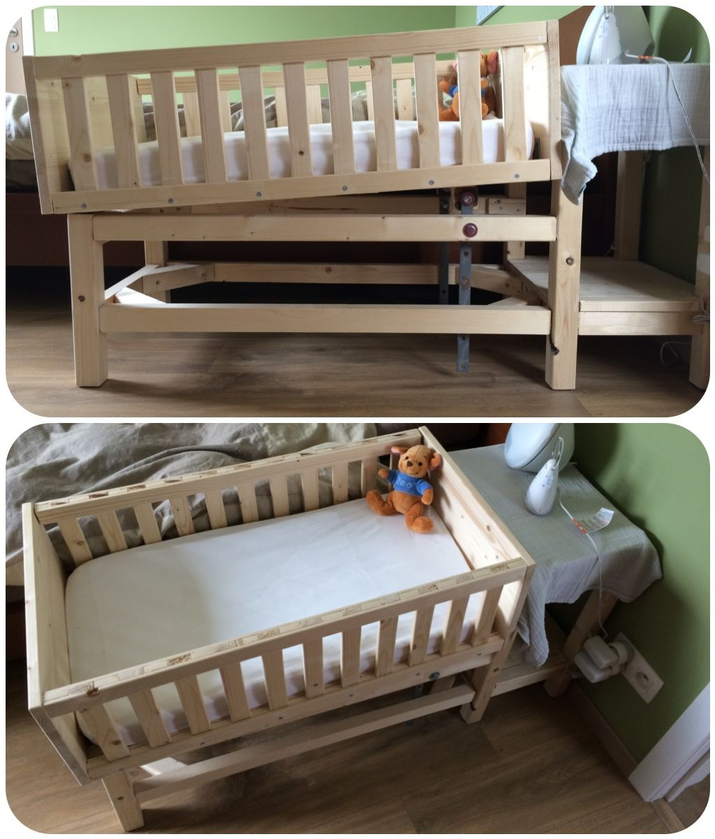 Crib for sale gatineau - Made With Love For Finn Diy Verstelbaar Baby Bedje Adjustable Baby Crib