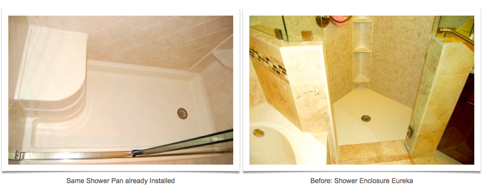 Bathroom Shower Remodel Before And After   Click Here To Have Astrong  Construction Remodel Your Bathroom