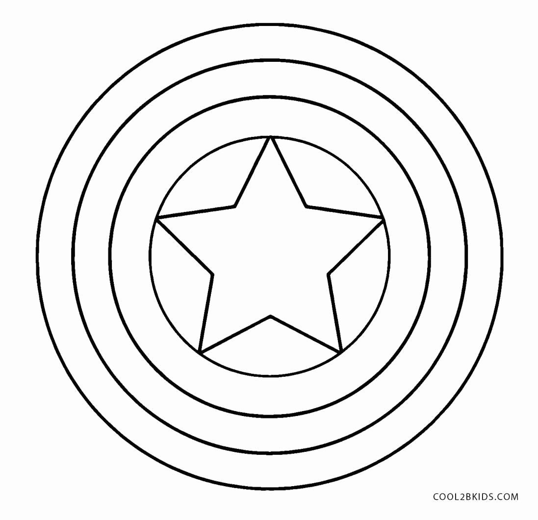 Captain America Shield Coloring Page Elegant Free Printable Captain America Colo In 2020 Captain America Coloring Pages Captain America Logo Captain America Printables