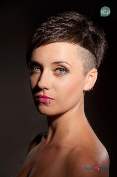 Krótkie Asymetryczne Fryzury Damskie Short Hair Cuts