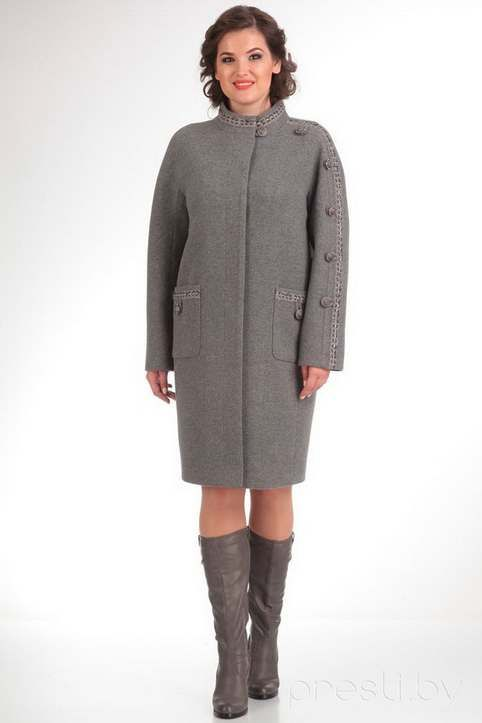 Пальто для полных женщин ведущих белорусских ...