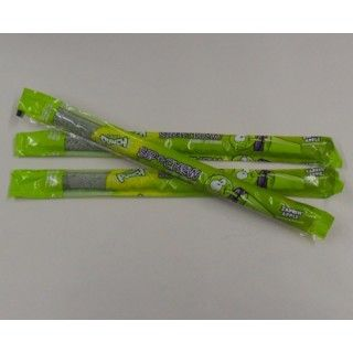 CANDY :: SOFT CANDY & CHEWS :: SOUR PUNCH-SIP N CHEW ZAPPIN APPLE STRAW-EACH -