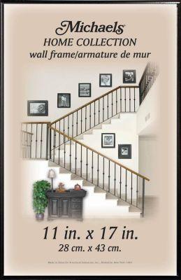Home Collection Black Alumnium Frame Michael S 9x12