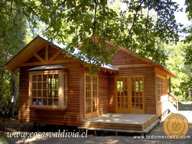Casas prefabricadas maderas valdivia curic curic o for Precios de cabanas prefabricadas