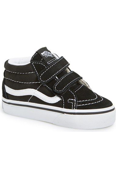 Vans 'Sk8 Mid Reissue' Sneaker (Baby, Walker & Toddler (With
