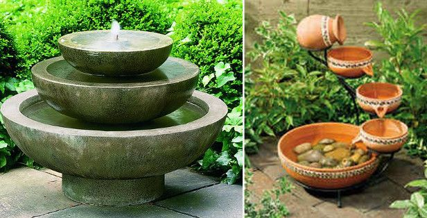 Diy small water fountain backyard fountains waterfalls diy small water fountain workwithnaturefo