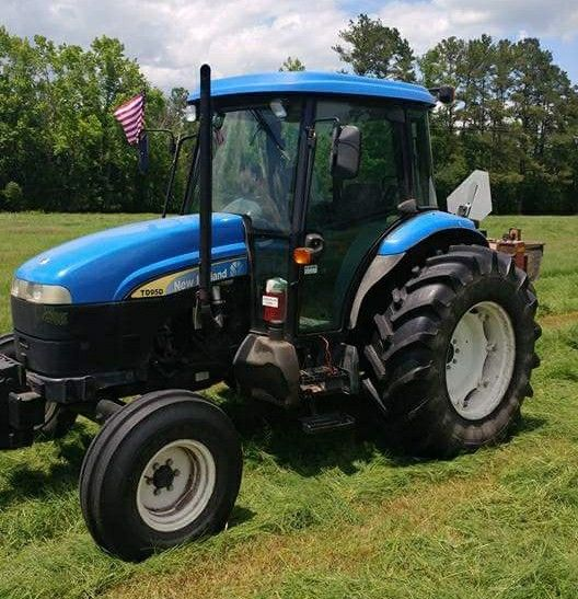New Holland Td95d Tractor Agricolas Maquinaria Agricola