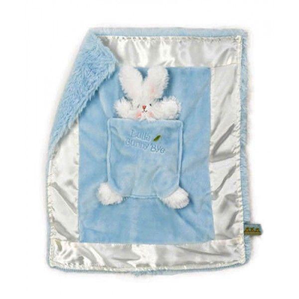 Bud's Lulla Bunny Bye Binkie - Blue Blankets