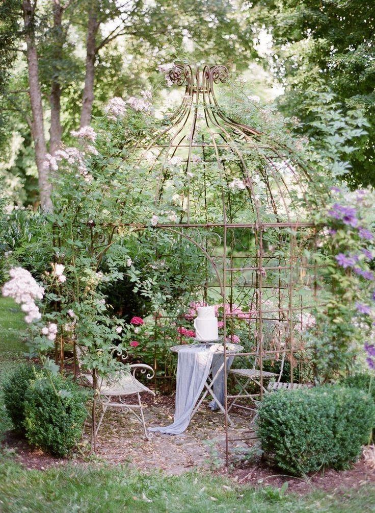 64 Awesome Secret Garden Design Ideas 19 Awesome Design Garden Ideas Secret French Chateau Wedding Inspiration French Chateau Weddings Chateau Wedding