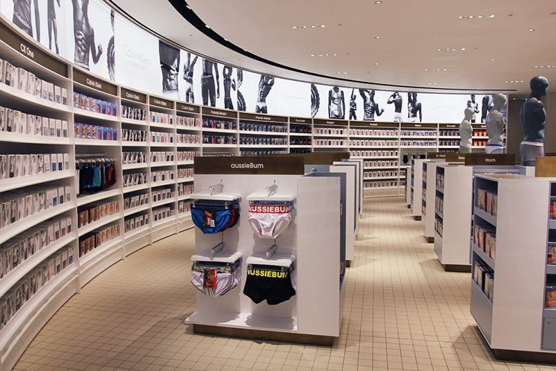 men underwear store - Google'da Ara | Retail Store Design ...