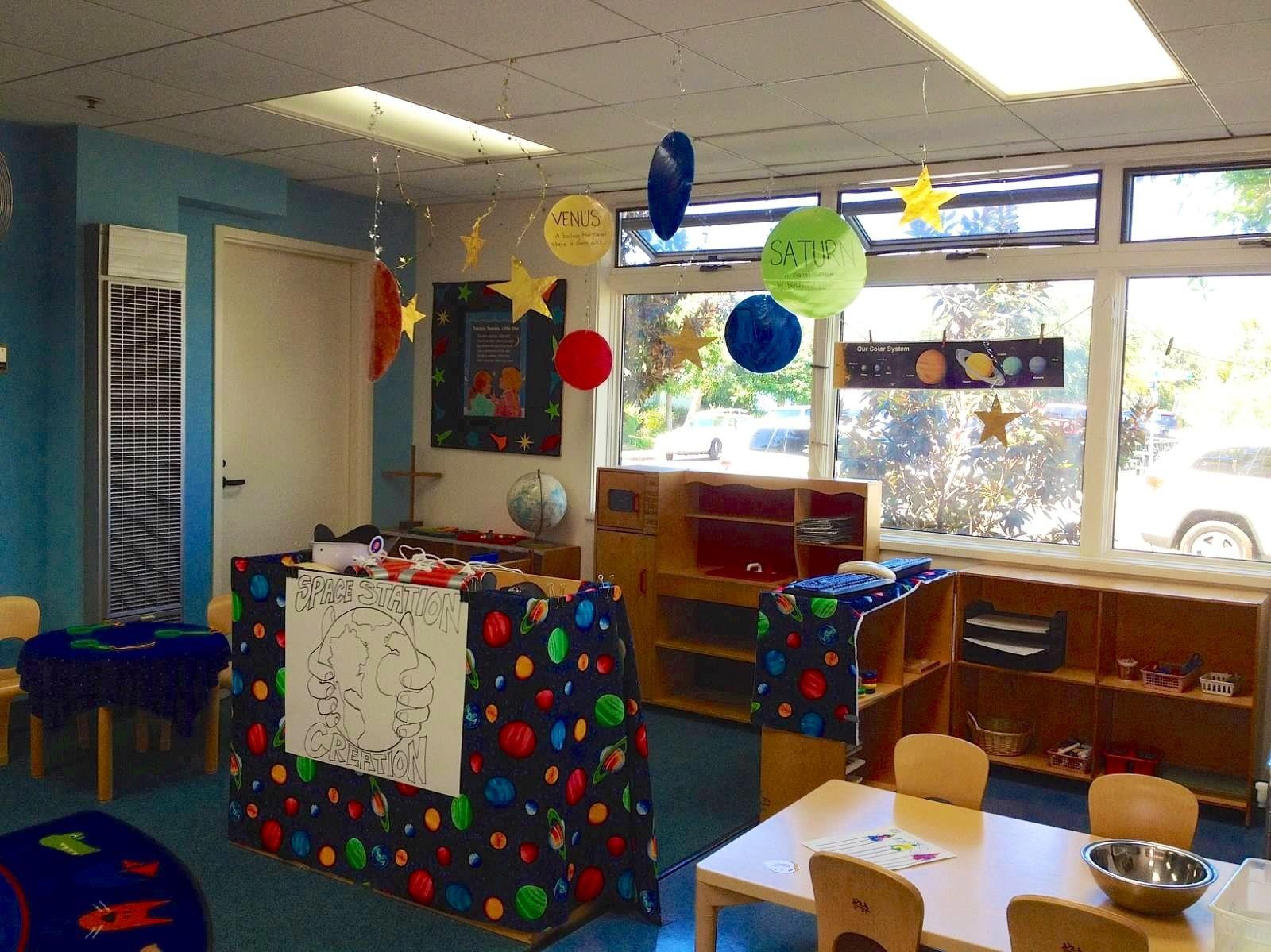 Preschool Space Theme Dramatic Play Center