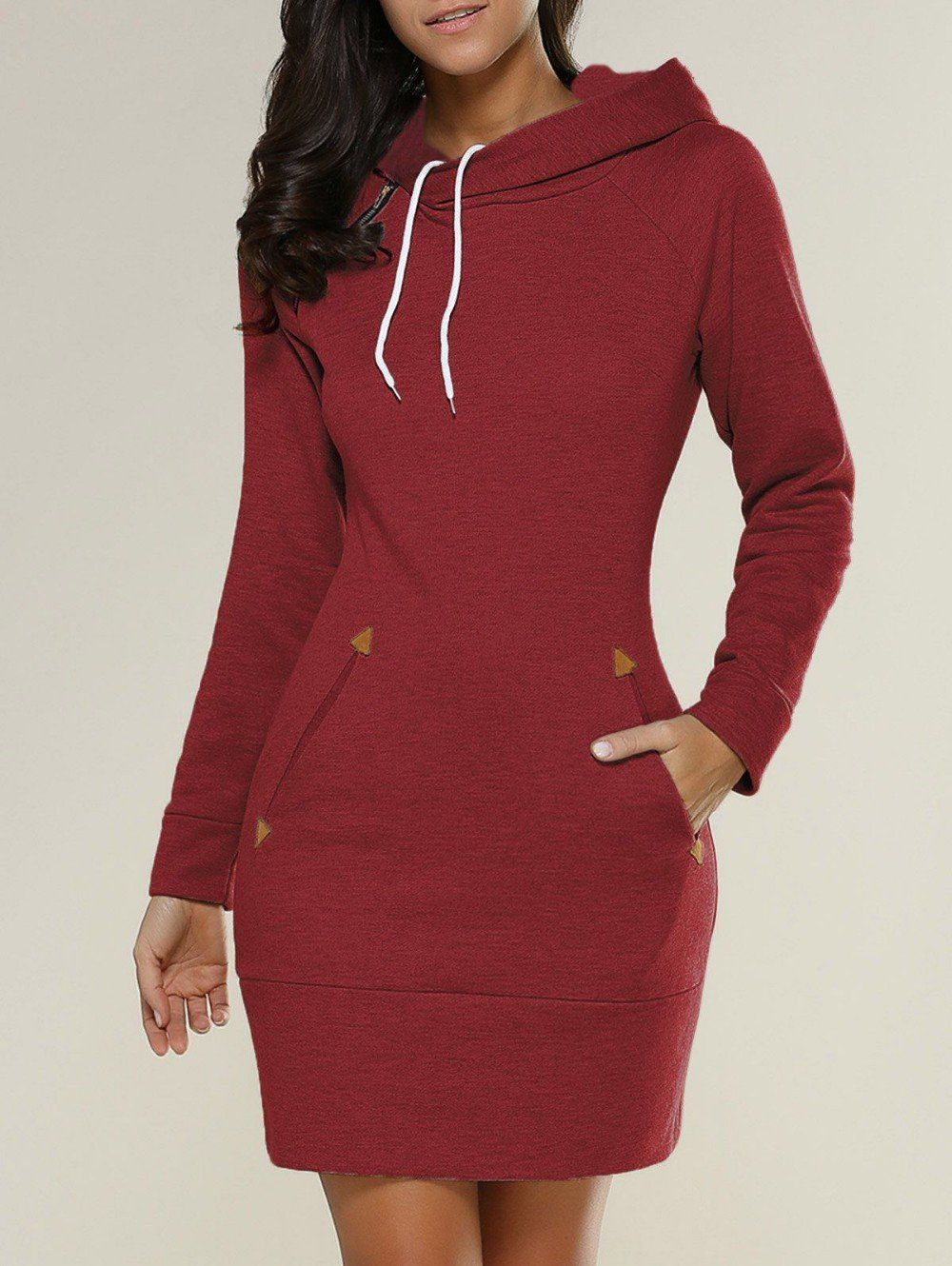 fda0db6d848 This knitted cotton hoodie sweatshirt dress hoodie is perfect for those  movie nights. It is lightweight warm and easy to wear. This is the best  thing next ...