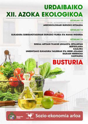 Feria Ecológica de Busturia!! #Urdaibai