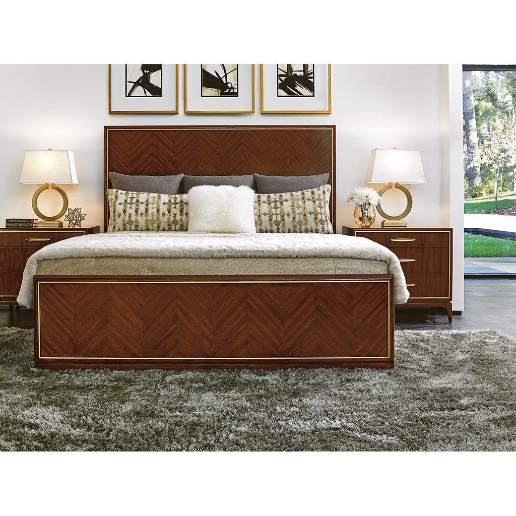 Lexington Take Five Carlyle Panel Bed (With images