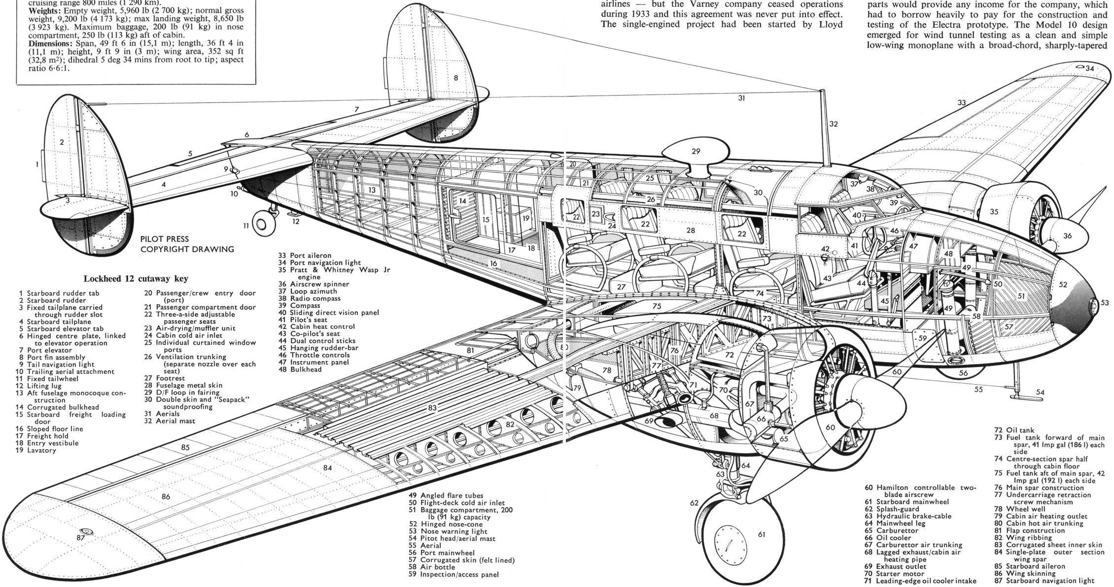 Lockheed Modelo 12 Electra Junior