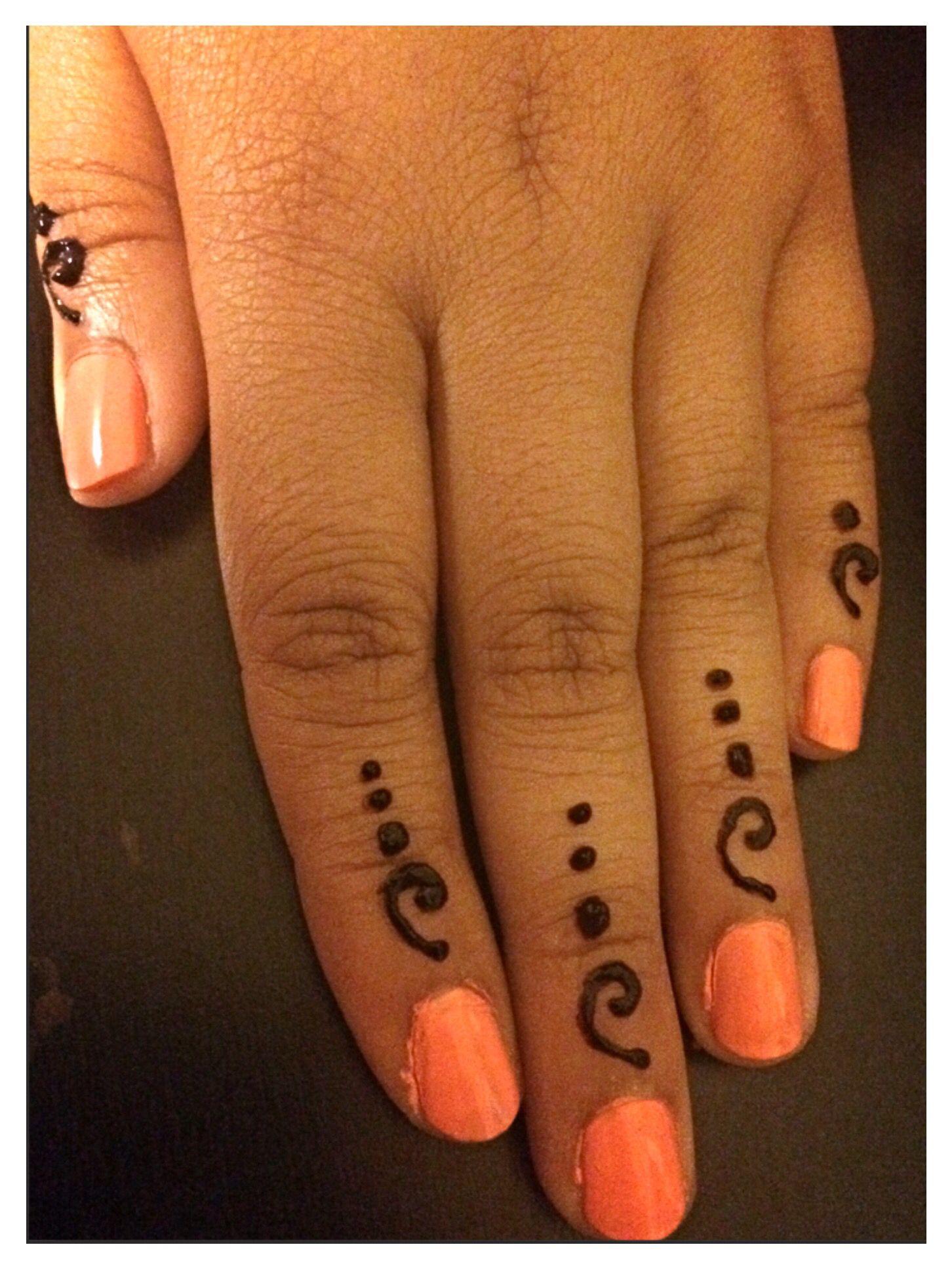 Quick Easy Finger Tips Mehndi Keri Henna Pinterest Mehndi