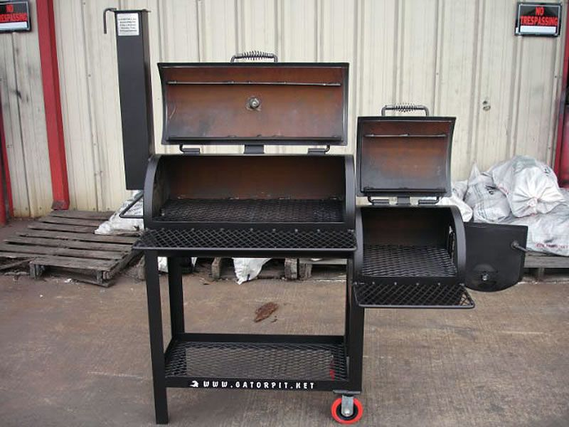 Build a BBQ Smoker Plans   barbecue pits grills