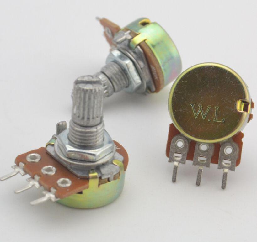 Wl Famous Brand 3 Years Warranty Linear Potentiometer Pot Single Joint Amplifier Pots 1k 2k 5k 10k 20k 50k 100k Amplifier Nuts And Washers Remote Control Toys