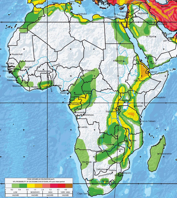 seismic hazard map