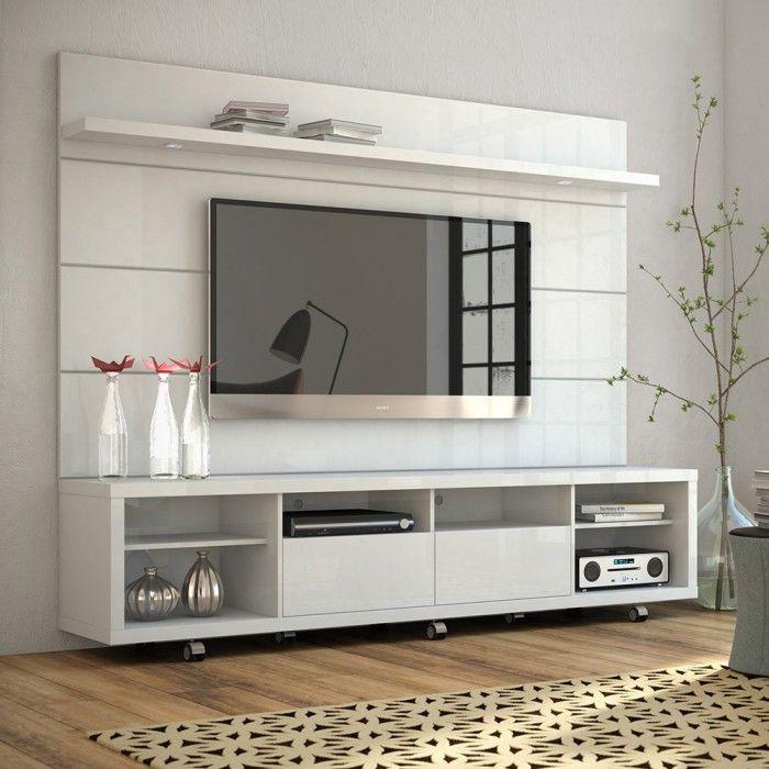 Frisos Do Painel Modern Tv Wall Units Tv Wall Design Living Room Tv Wall