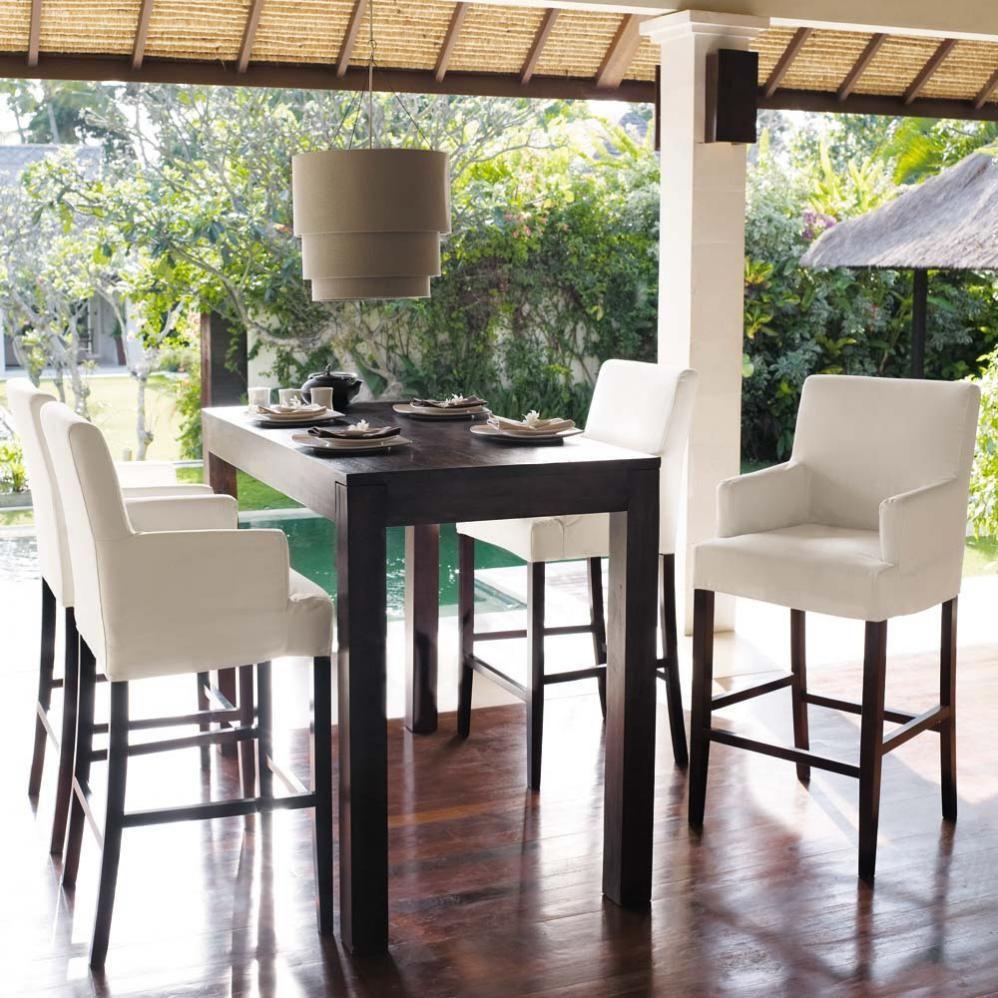 Tafels en bars meubels eetkamertafel hoge tafel en tafels - Sillas altas ...
