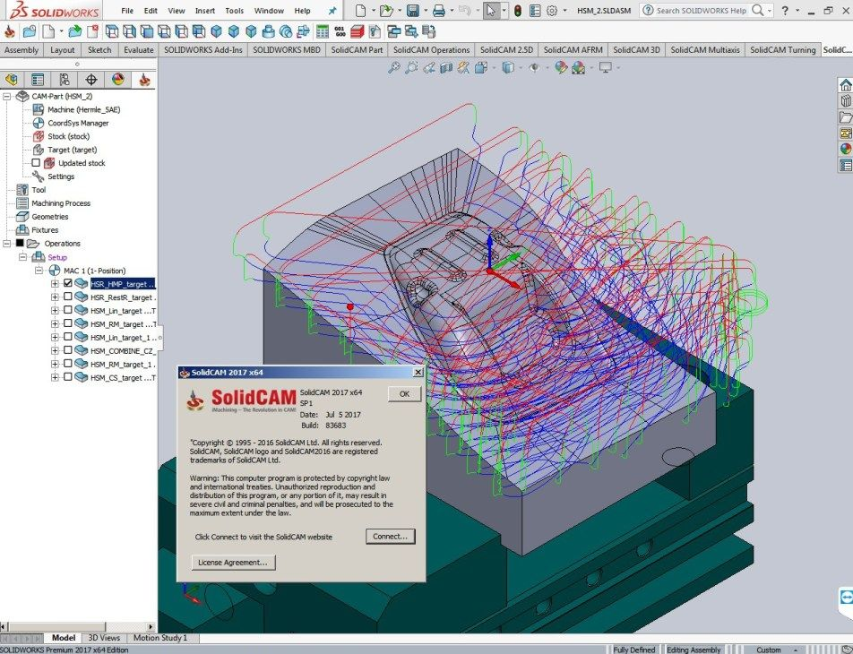 Machining With Solidcam 2017 Sp1 Multilang For Solidworks 2017 Cad