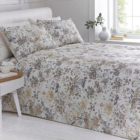 Debenhams Natural 'Orla' bedding set- at Debenhams.com ...