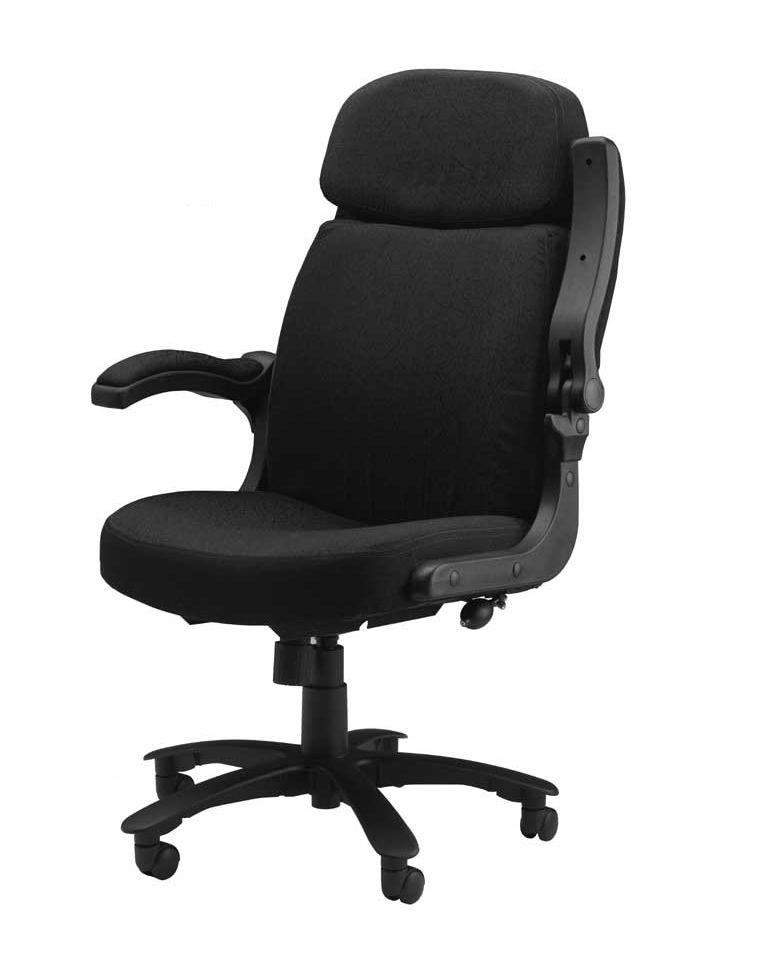 Cool Mayline Big And Tall Series Fabric Desk Chair W Flip Up Inzonedesignstudio Interior Chair Design Inzonedesignstudiocom