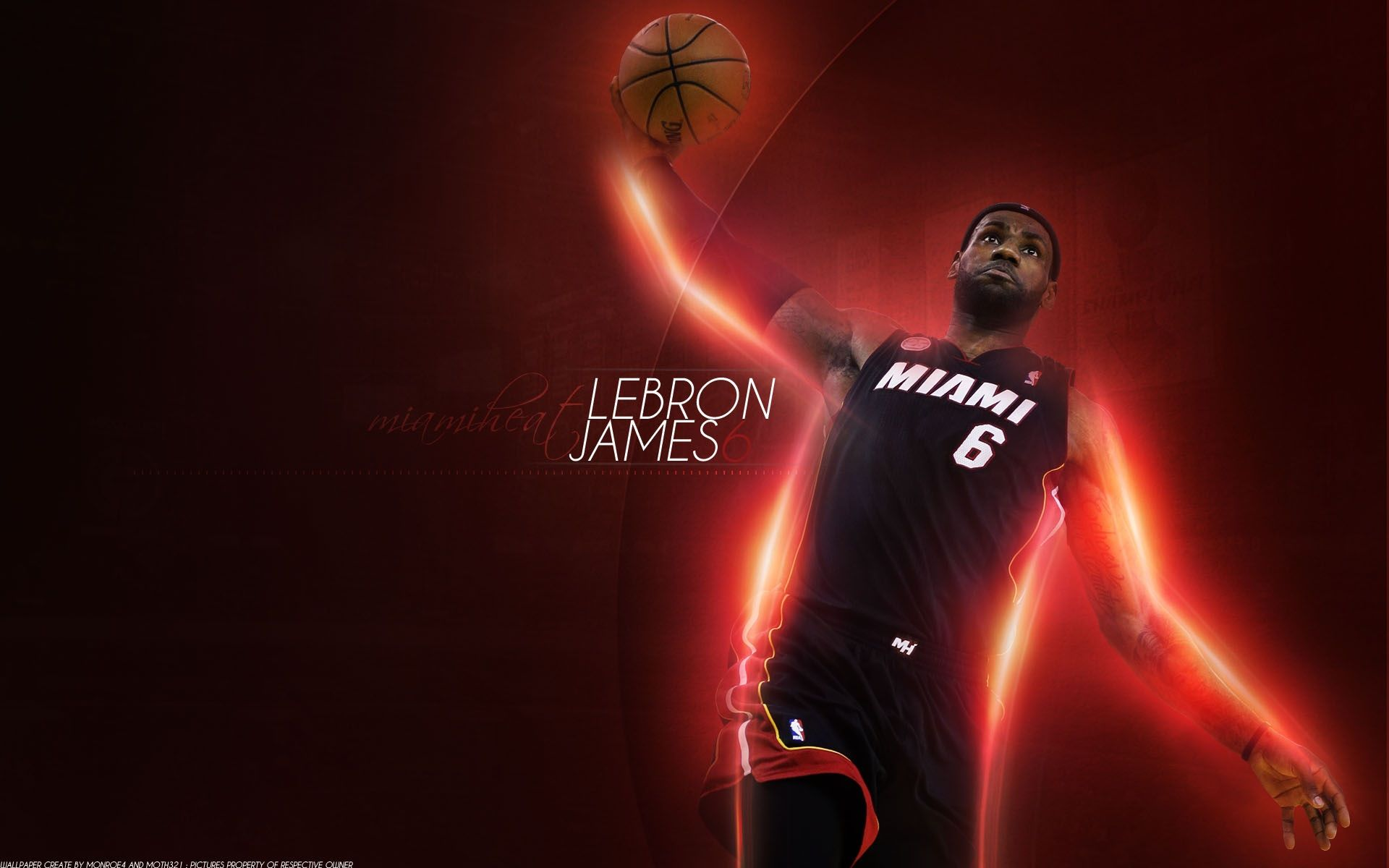 Miami Heat Wallpapers 2013 4013 Wallpaper Lebron James Wallpapers Lebron James Basketball Wallpaper