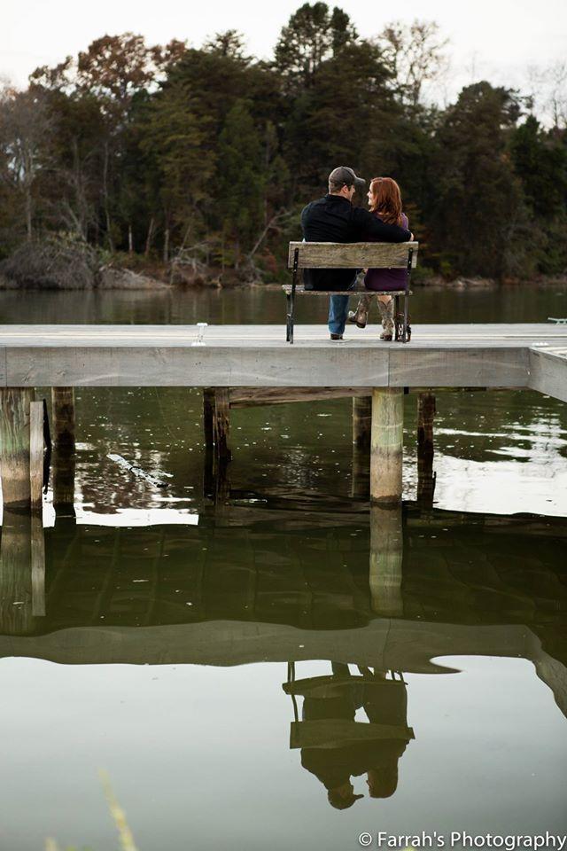 www.farrahsphotography.net #EngagementPhotos #Meadhaven #ReflectionPhoto #LoveIsInTheAir
